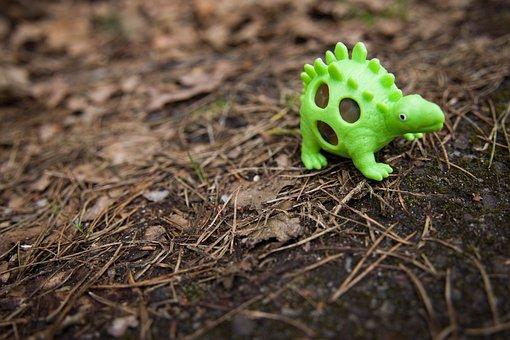 Dinosaur, Forest, Kids, Extinct, Tyrannosaurus, Gad