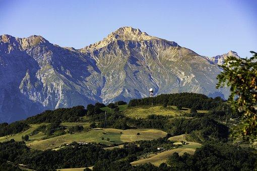 Gran Sasso, Appenino Centrale, Abruzzo, Montagne