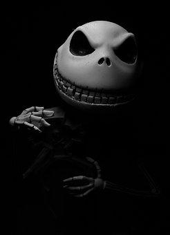 Jack, Burton, Halloween, Skull, Death, Horror, Skeleton