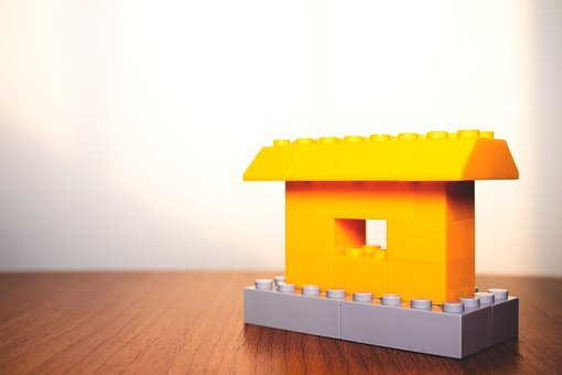 House, Property, Lego Blocks, Miniature, Sale, Mortgage