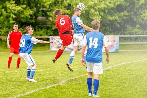 Players, Soccer, Football, Ball, Duel, Sport