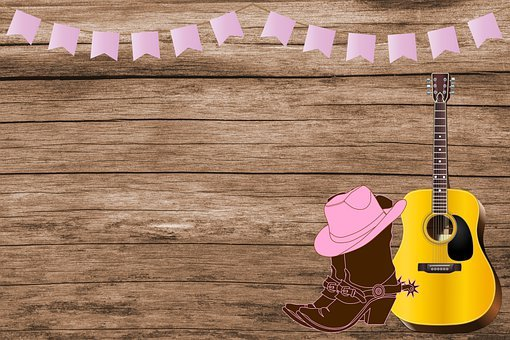Background, Cowboy Boots, Boots, Western, Cowgirl, Hat