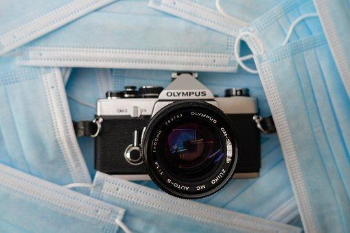 Camera, Face Masks, Lens, Coronavirus, Pandemic
