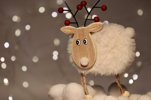 Reindeer, Christmas, Christmas Decoration, Rudolf