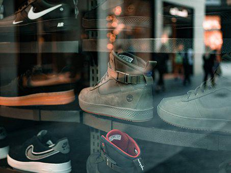 Shoes, Shoe Store, Window