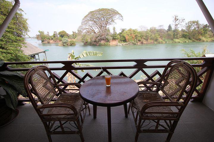 Table, Don Det, Laos, Si Phan Don, 4000 Islands, Asia