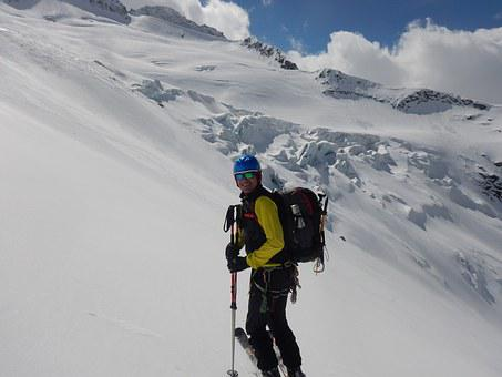 Glacier, Backcountry Skiiing, Ski Mountaineering
