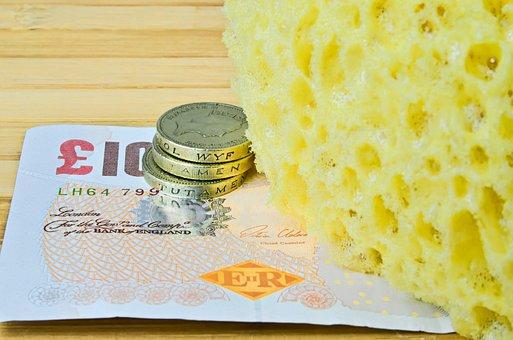 Sponge For Washing, Sponge, Cleaning, Washing, Bathroom