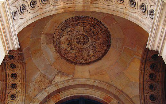History, Heritage, Spain, Architecture, Arch, Ceiling