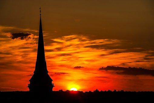 City, Erfurt, Architecture, Germany, Building, Sun