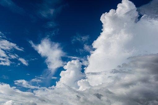 Blue Sky, Clouds, Cloudporn, Weather, Lookup, Sky