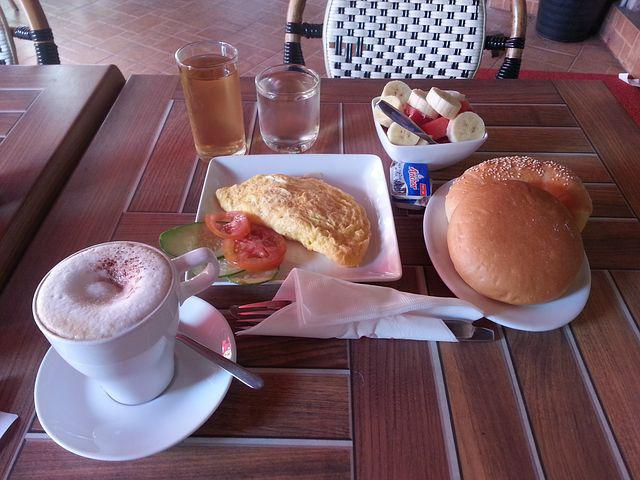 Breakfast At Lao, Coffee, Meal