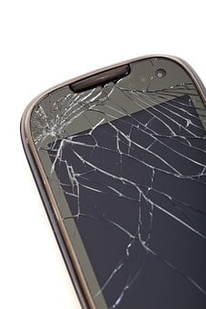 Broken, Cell Phone, Cellular, Communication, Crack