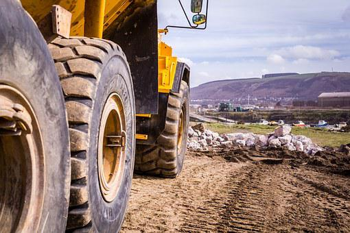 Construction, Dump Truck, Dump, Industry, Equipment