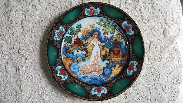 Epic, Porcelain, Summer, Plate