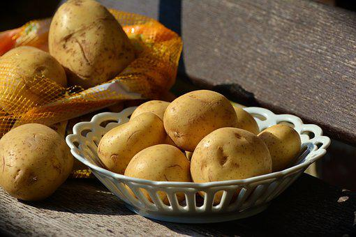 Potatoes, Unpeeled, Food, Raw, Ingredient, Harvest