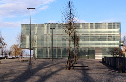 Architecture, Glass House, Mirroring, Industry