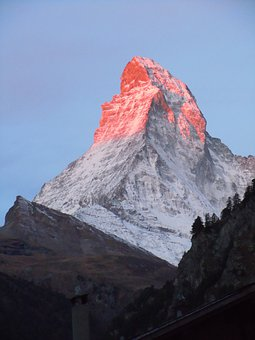 Matterhorn, Mountain, High Mountains, Landscape