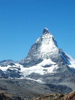 Matterhorn, Alps, Landscape, Mountain, Alpine