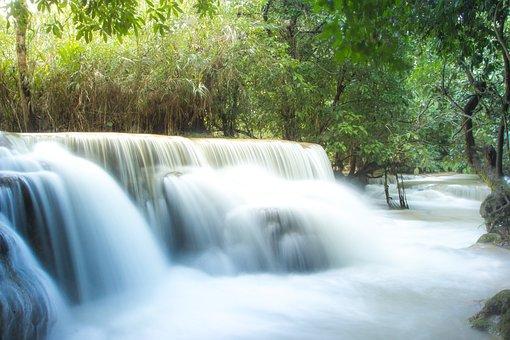 Guangxi Waterfall, Laos