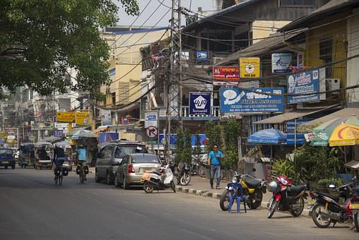 Laos, Traffic, Means Of Communication