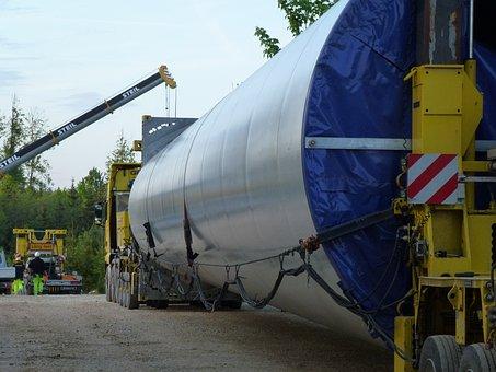 Pinwheel, Detail, Large, Heavy Transport, Site