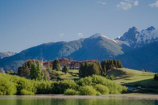 Llao Llao, Landscape, Mountain, Mountains, Sky, Nature