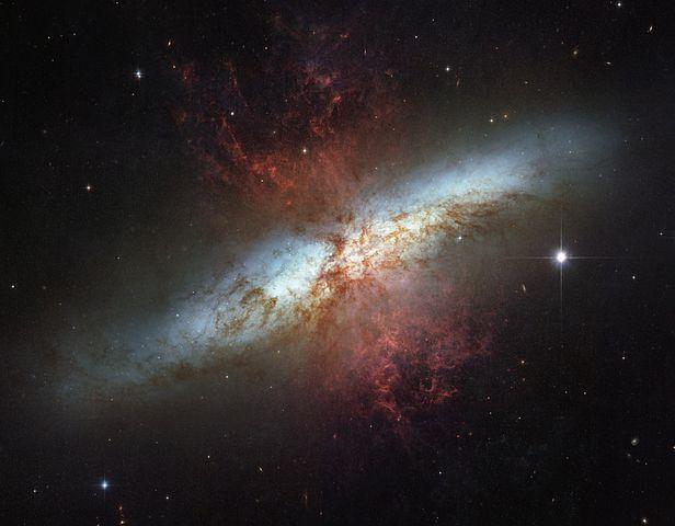 Messier 82, Ngc 3034, M82, Spiral Galaxy