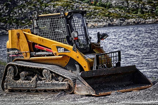 Digger, Machine, Machinery, Construction, Bulldozer