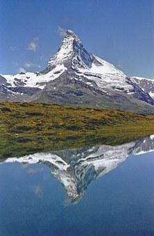 Matterhorn, Mountain, Zermatt, Alpine, Switzerland