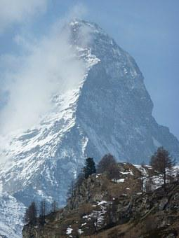 Matterhorn, Zermatt, Massif, Switzerland