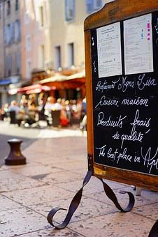 Menu, Apt, France, Cafe, Restaurant, Downtown, Hotel