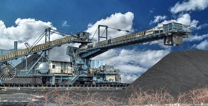 Mining, Berghalde, Inland Waterway Transport, Germany