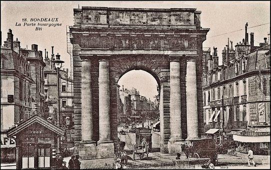Vintage, Arc De Triomph, France, Paris, Monument