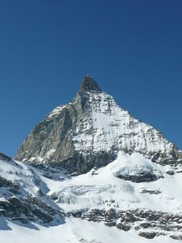Matterhorn, Mountain, Switzerland, Zermatt, Valais