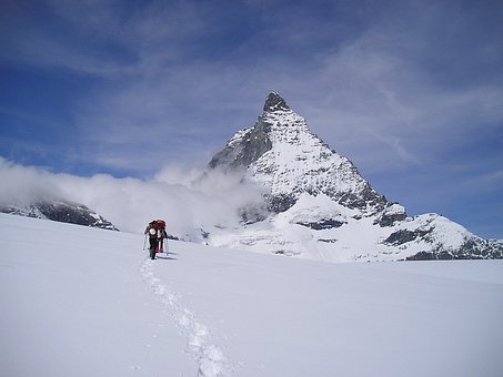 Matterhorn, Zermatt, Mountains, Alpine, Switzerland
