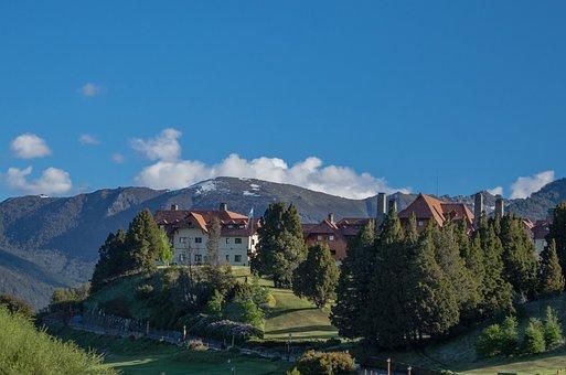 Landscape, Mountain, Mountains, Sky, Nature, Blue