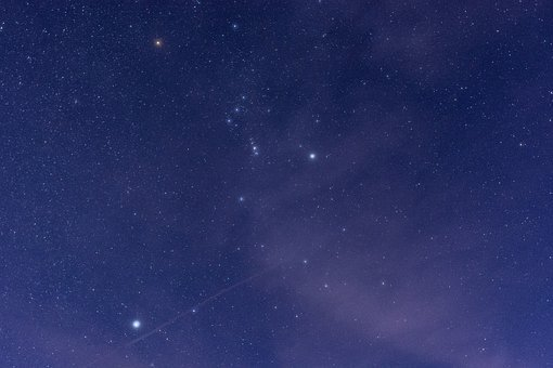 Orion, Orion' Belt, Stars, Night, Sky, Constellation