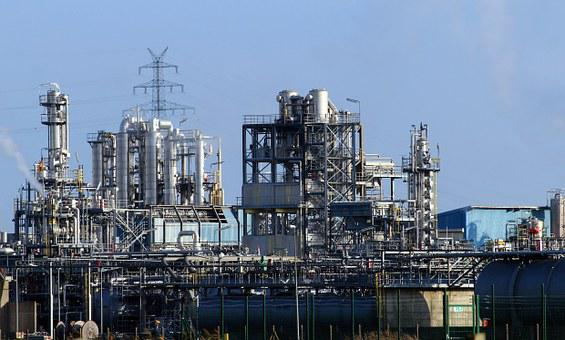 Industry, Industrial Plant, Petrochemical Industry