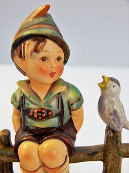 Figurine, Hummel, Germany, Collectible, Porcelain