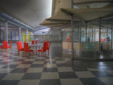 Foyer, Reception Hall, Source, Nuremberg, Industry
