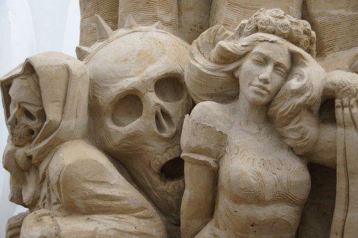 Sand Sculptures, Sand, Sculpture, Structures Of Sand