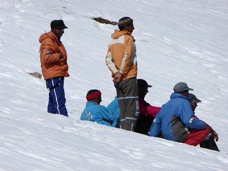 Skiing, Ski Instructors, Runway, Ski Lessons, Winter