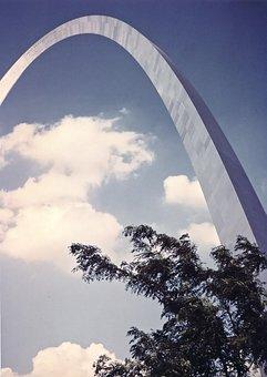 St Louis, Arch, Gateway, Jefferson, Memorial, Downtown