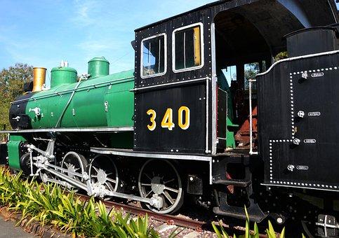 Train, Steam Train, Locomotive, Railway, Steam, Engine