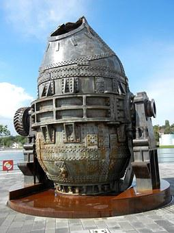 Casting Bell, Steel, Steel Mill, Blast Furnace