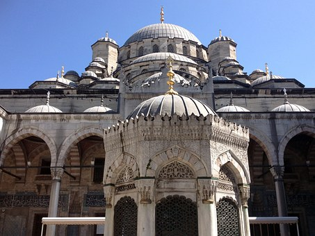 New Mosque, Sultana Mosque, Turkey, Istanbul, Cami