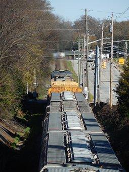 Train, Track, Train Tracks, Transport, Transportation