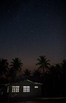 Starscape, Stars, Sky, Night, Universe, Astronomy