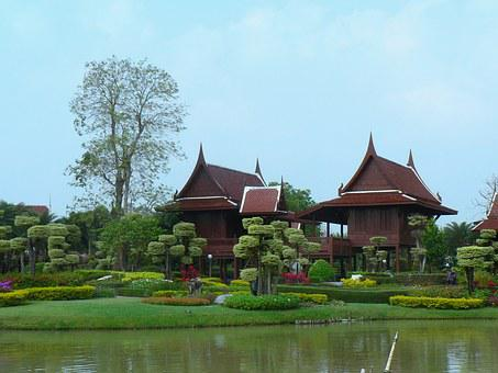 Thailand, Rooms, Hotel, Serenity, Water, Nature